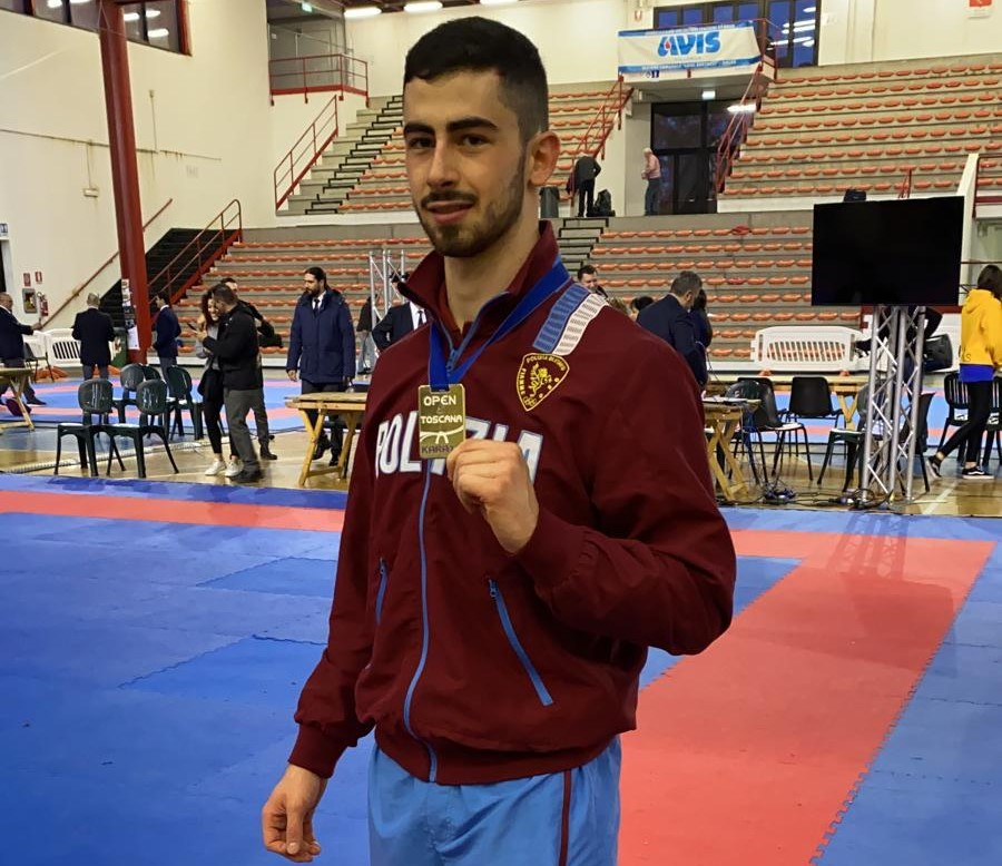 Karate, il vittoriese Giuseppe Panagia medaglia d'oro al Trofeo Nelson Mandela