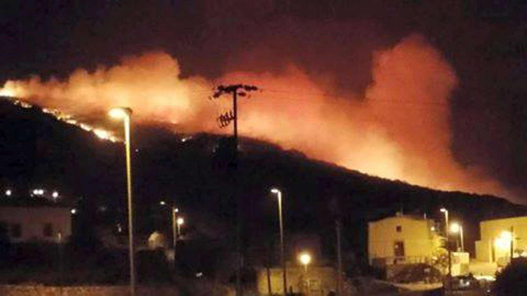 Incendi, droni per controllare Pantelleria