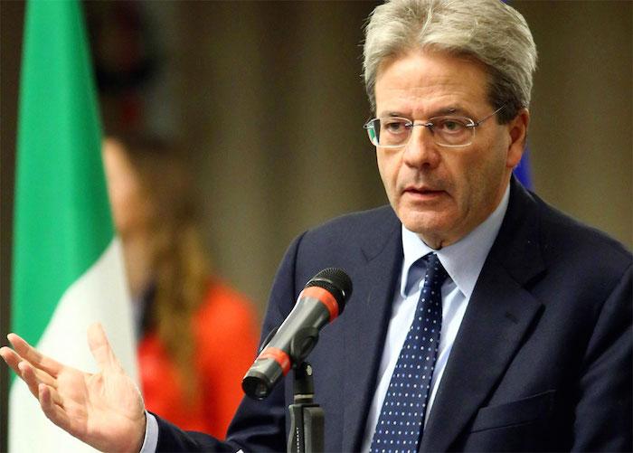 """Trattati di Roma, Gentiloni agli imprenditori: """"Sostenere il libero scambio"""""""