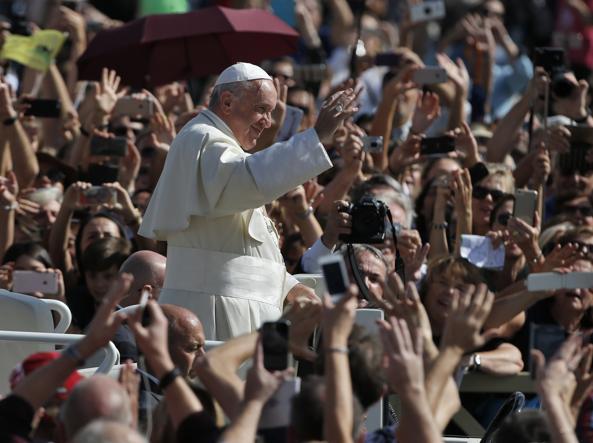 La marcia Perugia - Assisi, il Papa: la pace è un dono di Dio