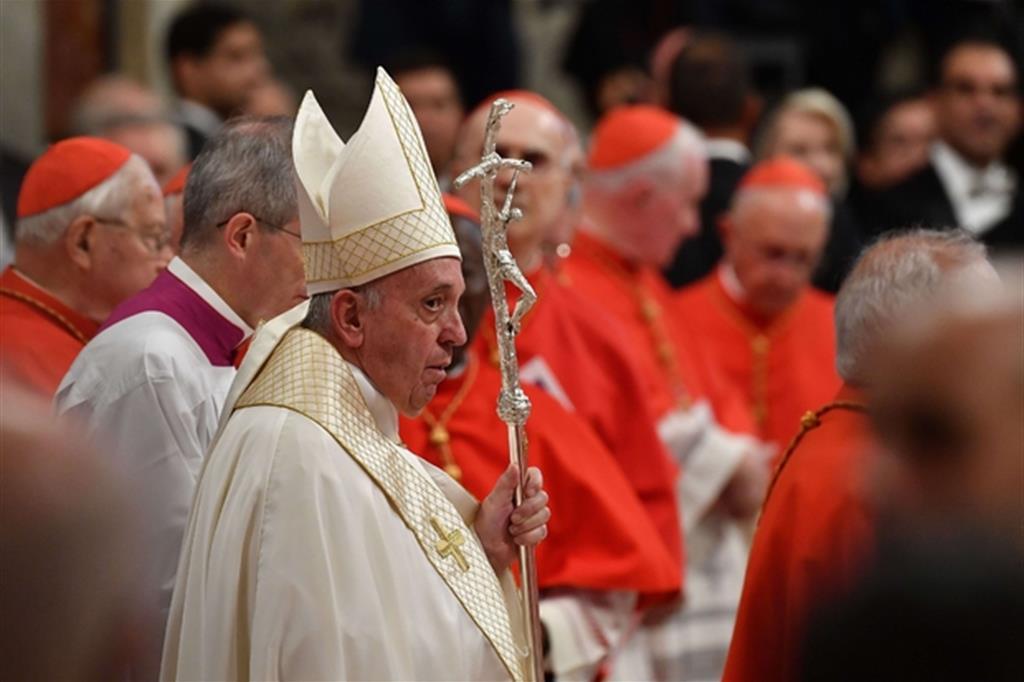 Papa Francesco crea 13 nuovi cardinali e ricorda i valori della lealtà