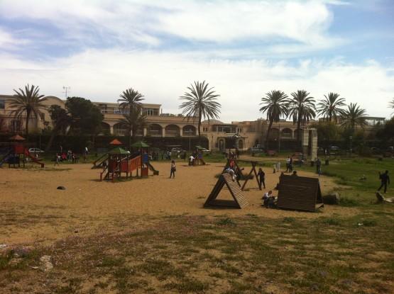 Legambiente Catania, volontari in azione al parco Gioeni