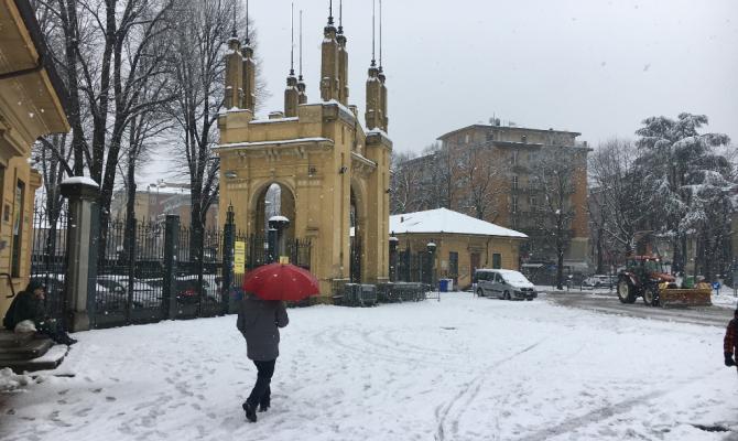 La neve ferma  le partite di B Parma - Palermo e Pro Vercelli-Perugia