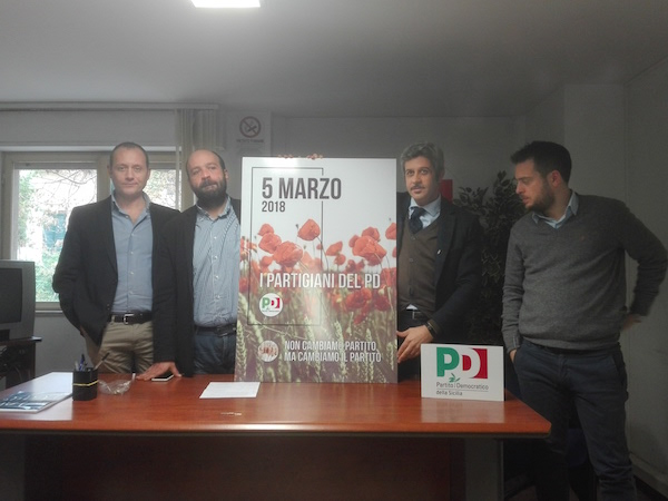 """Pd, monta la rivolta: a Enna adesioni in massa ai """"Partigiani"""""""