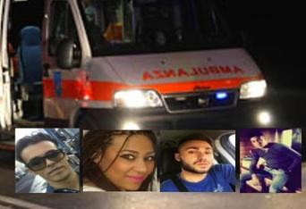I quattro ragazzi morti in un incidente a Paternò, spunta il terzo scooter