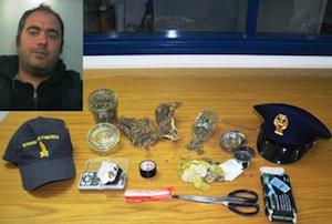 Noto, gli trovano nella villetta la marijuana: arresti domiciliari