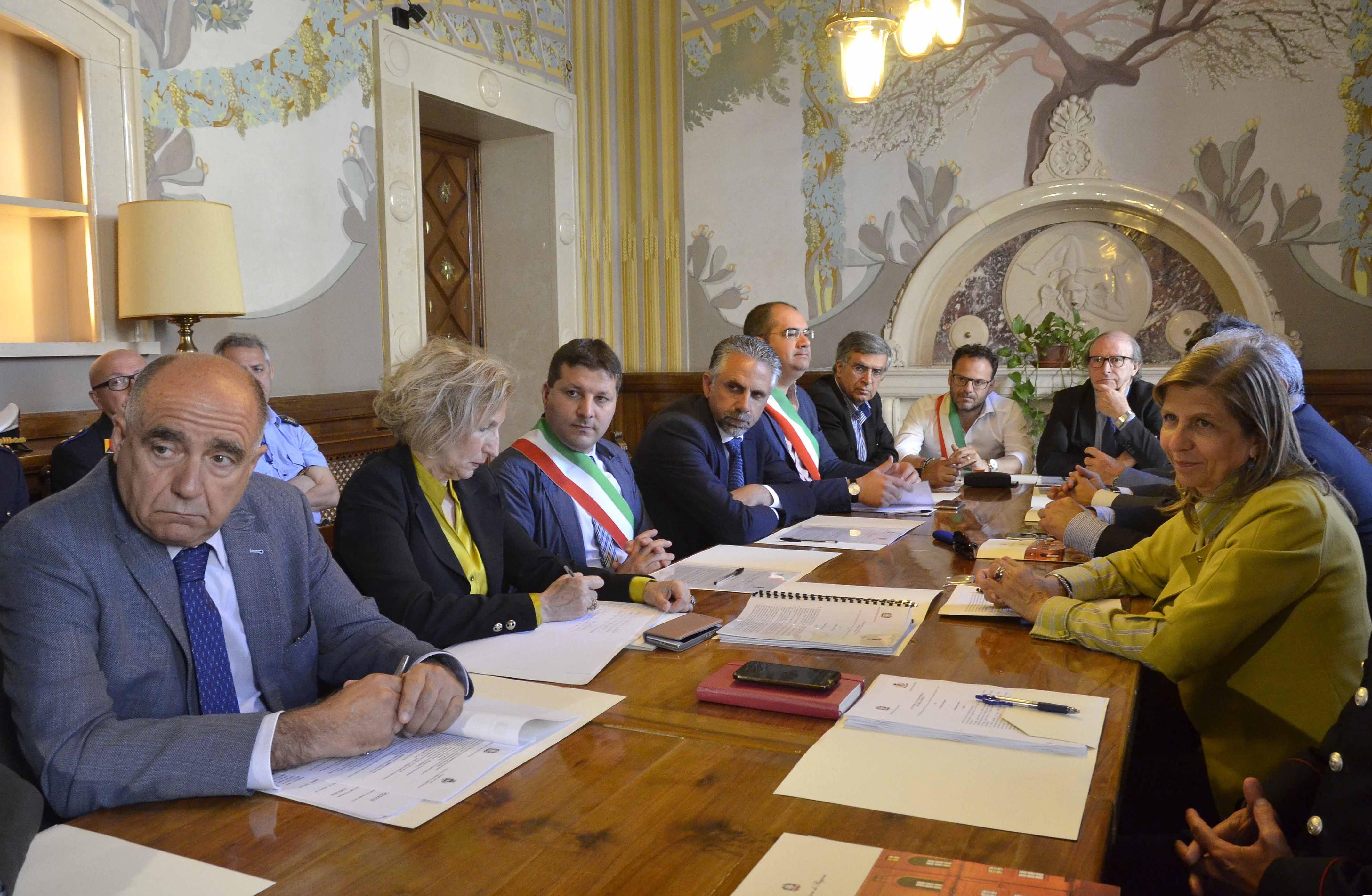 Ragusa, firmati in Prefettura i patti per la sicurezza nei comuni iblei