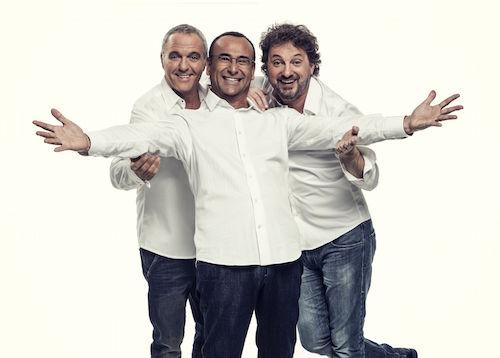 Panariello, Conti e Pieraccioni il 6 agosto a Taormina