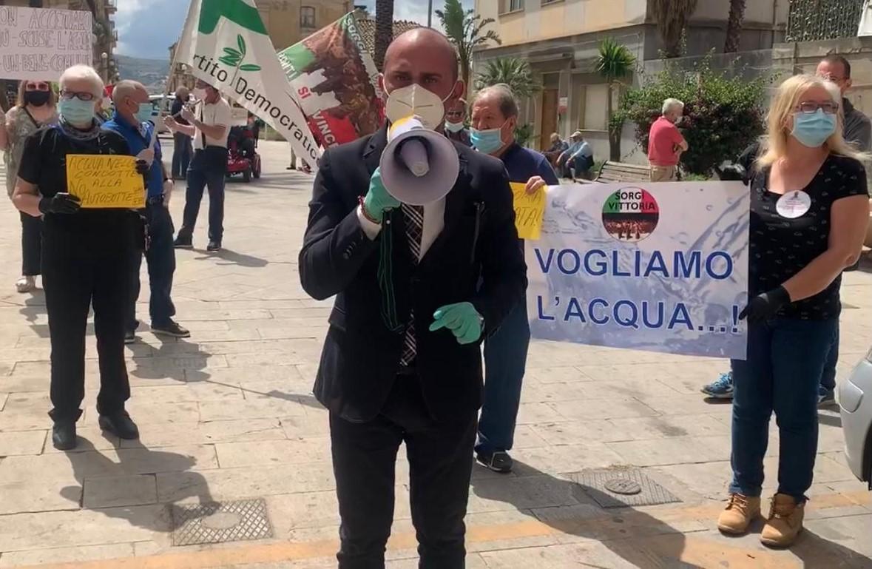 Vittoria, la protesta del PD al quartiere Forcone: crisi idrica sempre più grave
