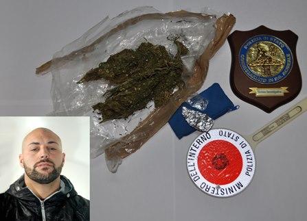 Nasconde droga nell'armadio, arrestato a San Giovanni La Punta