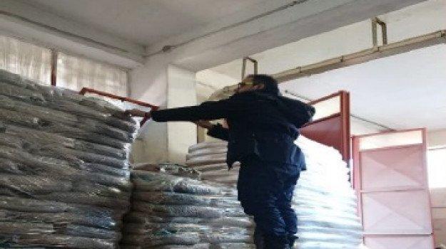 Trapani, sequestrato pellet arrivato dall' Egitto