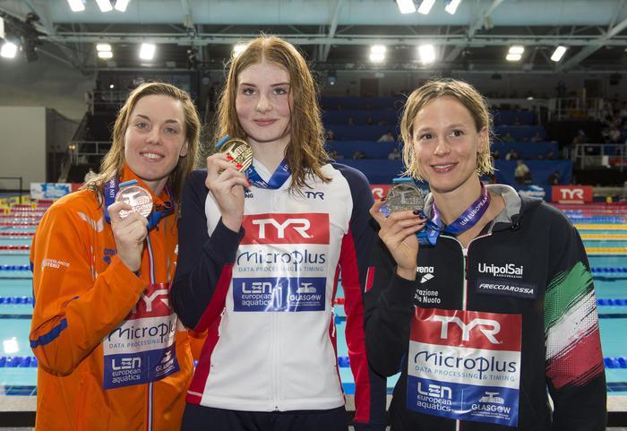 Europei di nuoto, Federica Pellegrini resta una fuoriclasse: argento nei 200 stile libero