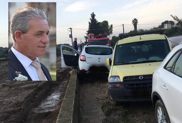 Acqua e fango travolgono e uccidono agente penitenziario sulla Noto - Rosolini