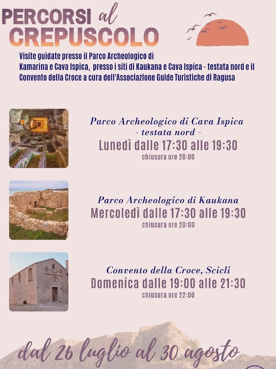 Visite guidate nei parchi archeologici iblei: si comincia il 26 da Cava Ispica