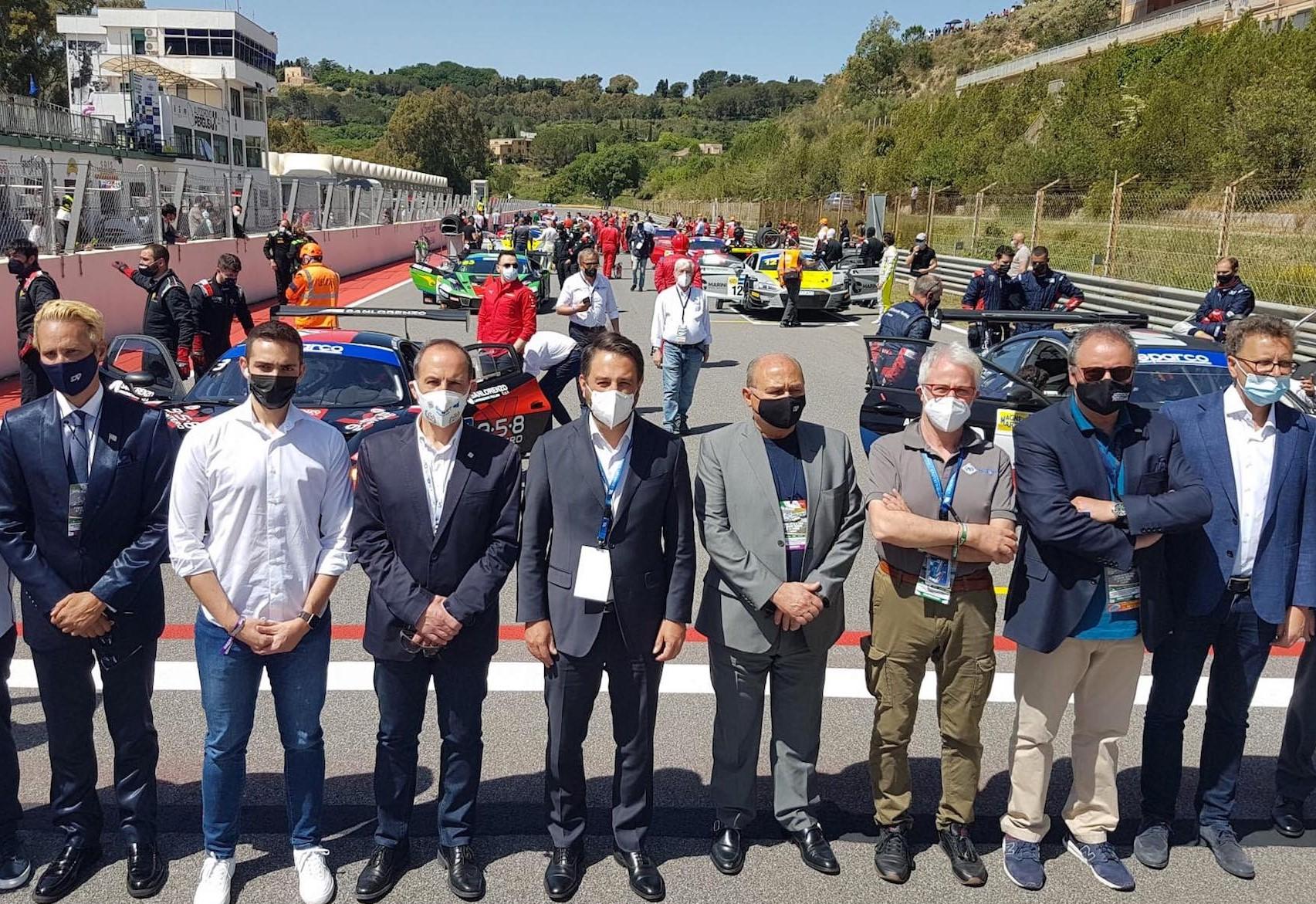 L'Audi svetta a Pergusa, a Giacomo Pollini il 1° Trofeo Città di Enna: in gara il meglio dell'automobilismo italiano e internazionale