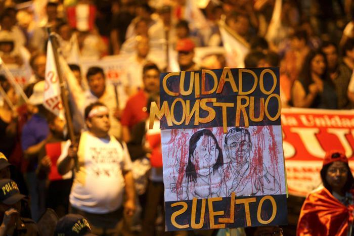 L'ex presidente del Perù in ospedale per un male incurabile