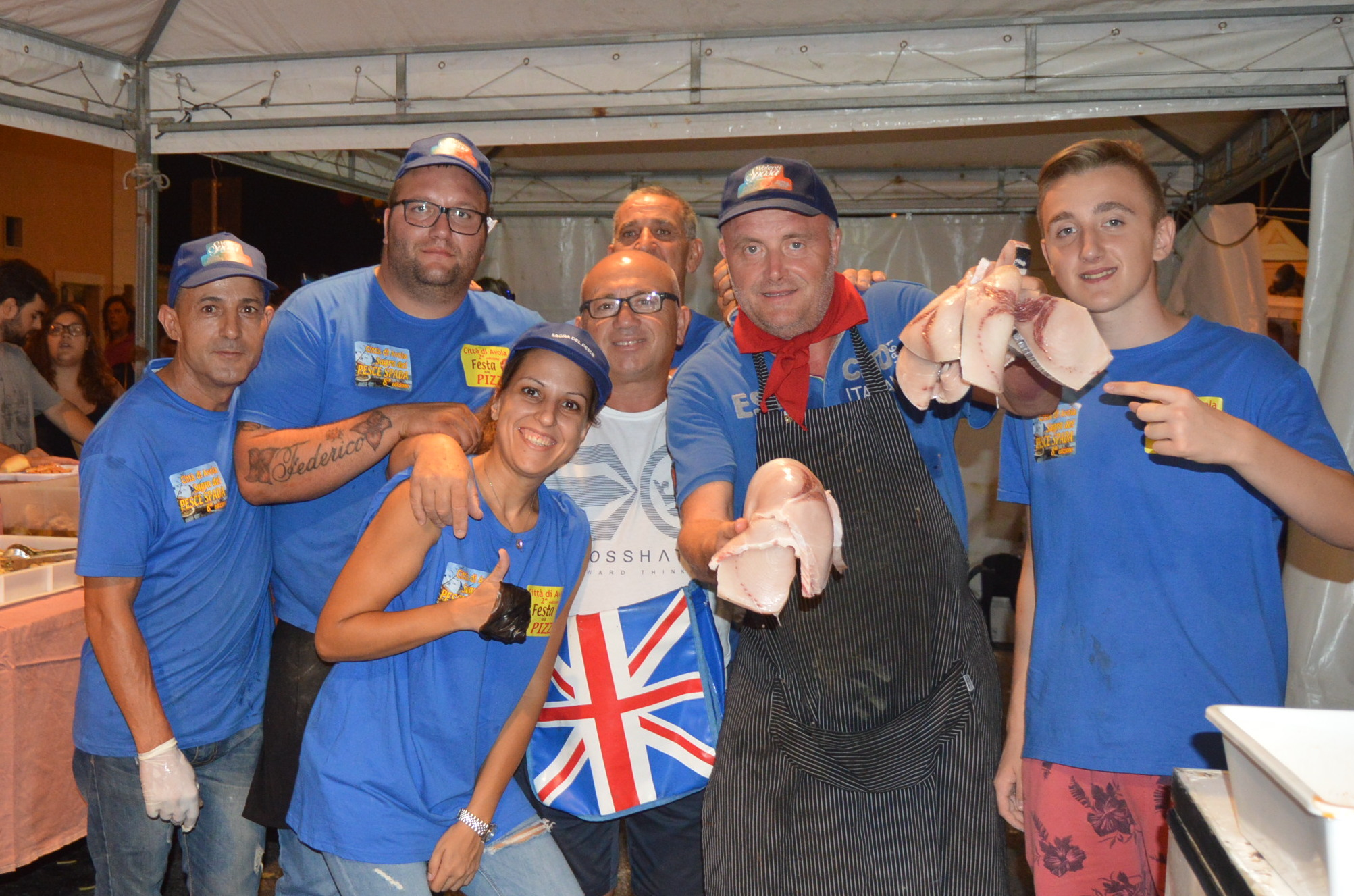 Sagra del pesce spada ad Avola, Michele Magliocco vince la scommessa
