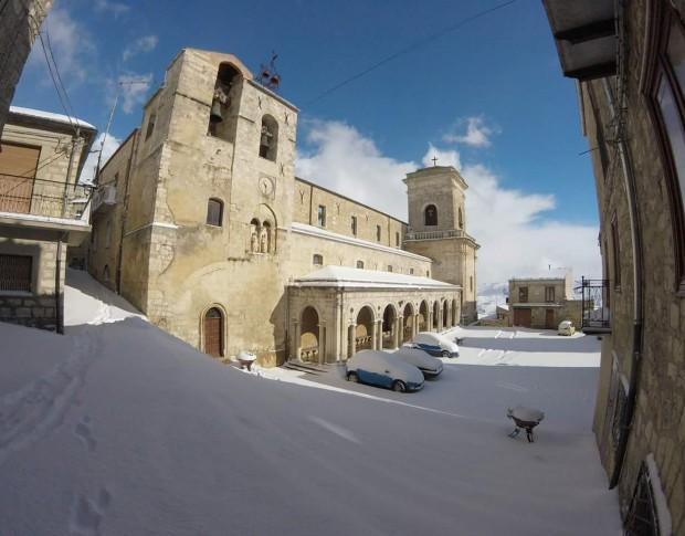 Muore sulla neve custode di una chiesa di Petralia Soprana
