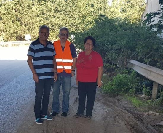 """""""La strada provinciale Cassibile-Floridia invasa dalle erbacce"""""""