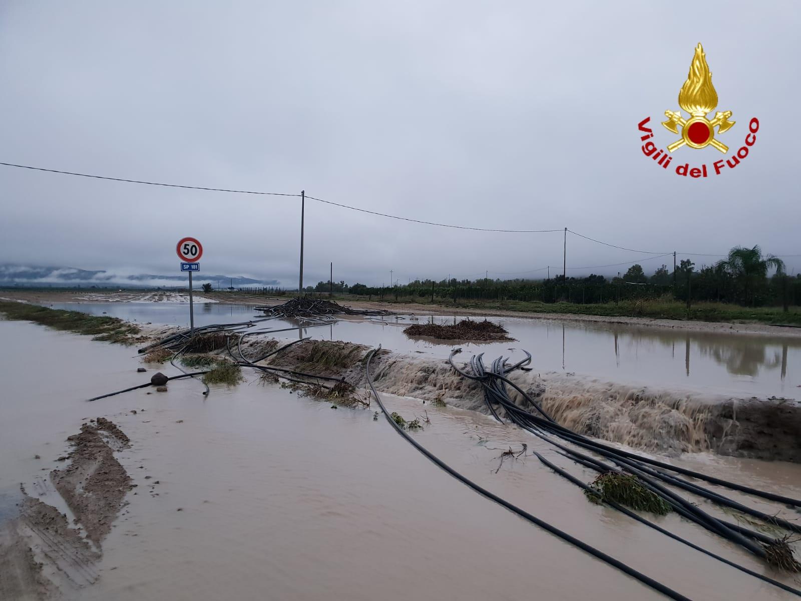 Strade come fiumi a  Ramacca, Scordia  e Palagonia
