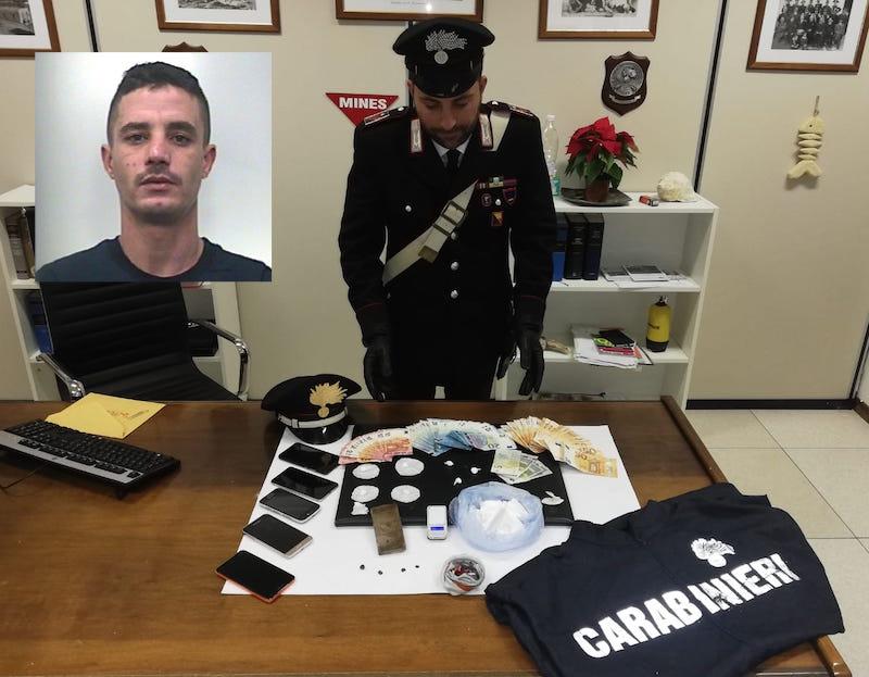 Trovato con cocaina per oltre 10mila euro: arresto a Modica
