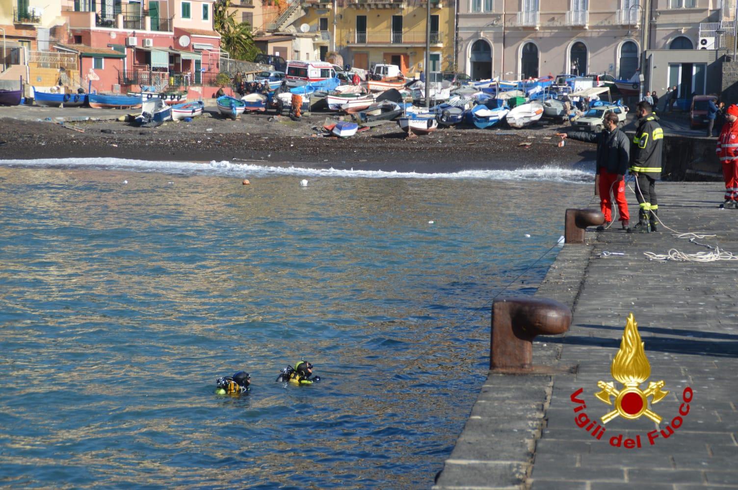 Acireale, recuperati due cadaveri dei tre dispersi nel mare di Santa Maria La Scala