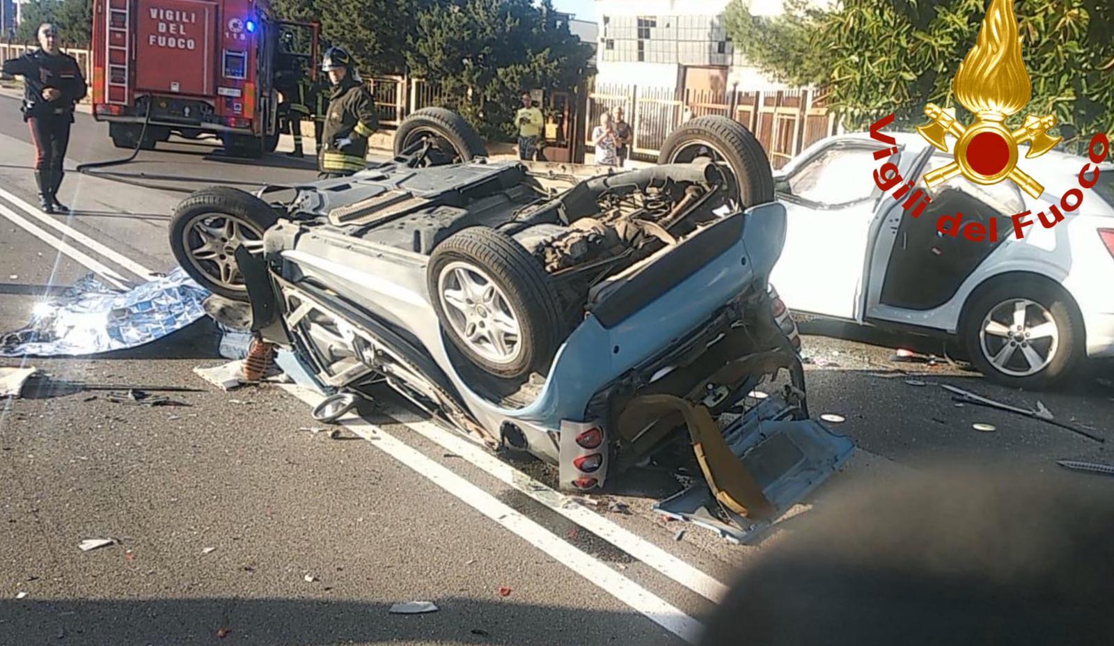 Un morto a Siracusa in un incidente stradale a Targia  e un bambino ferito