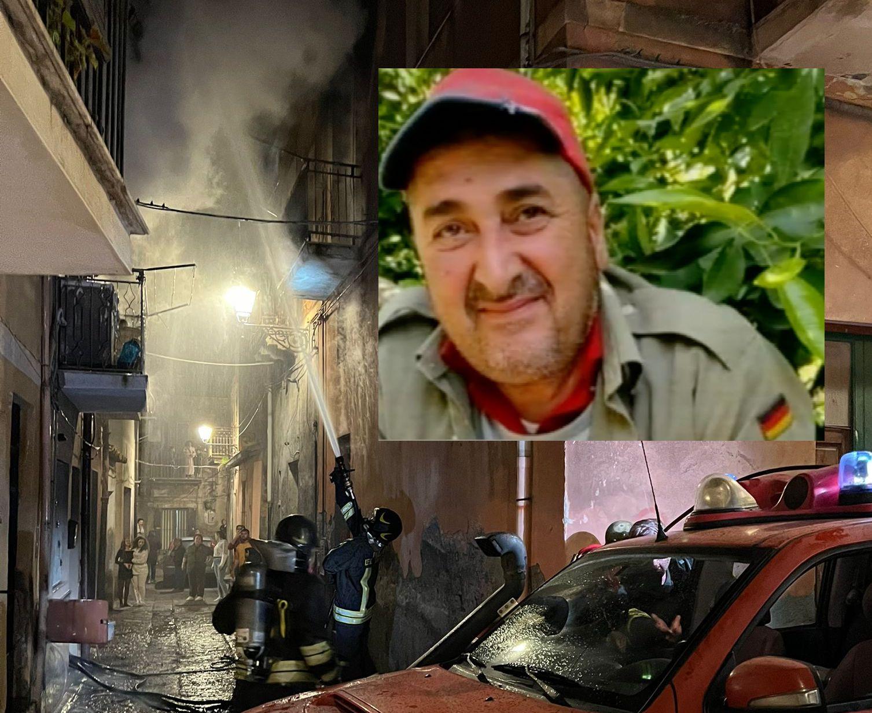 Tragedia ad Adrano, casa in fiamme: morto il marito e ferita la moglie