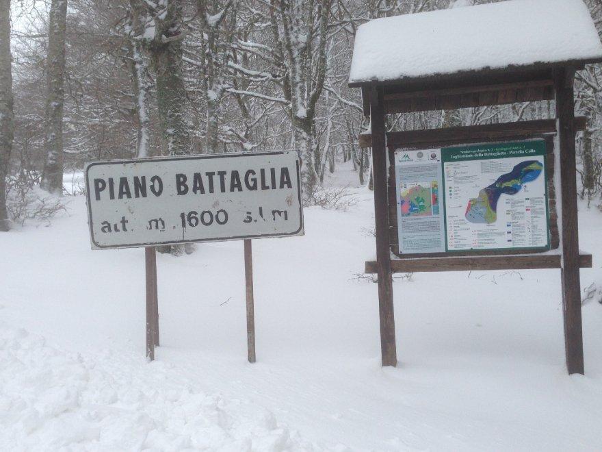 Epifania con la neve sulle Madonie, è allerta meteo