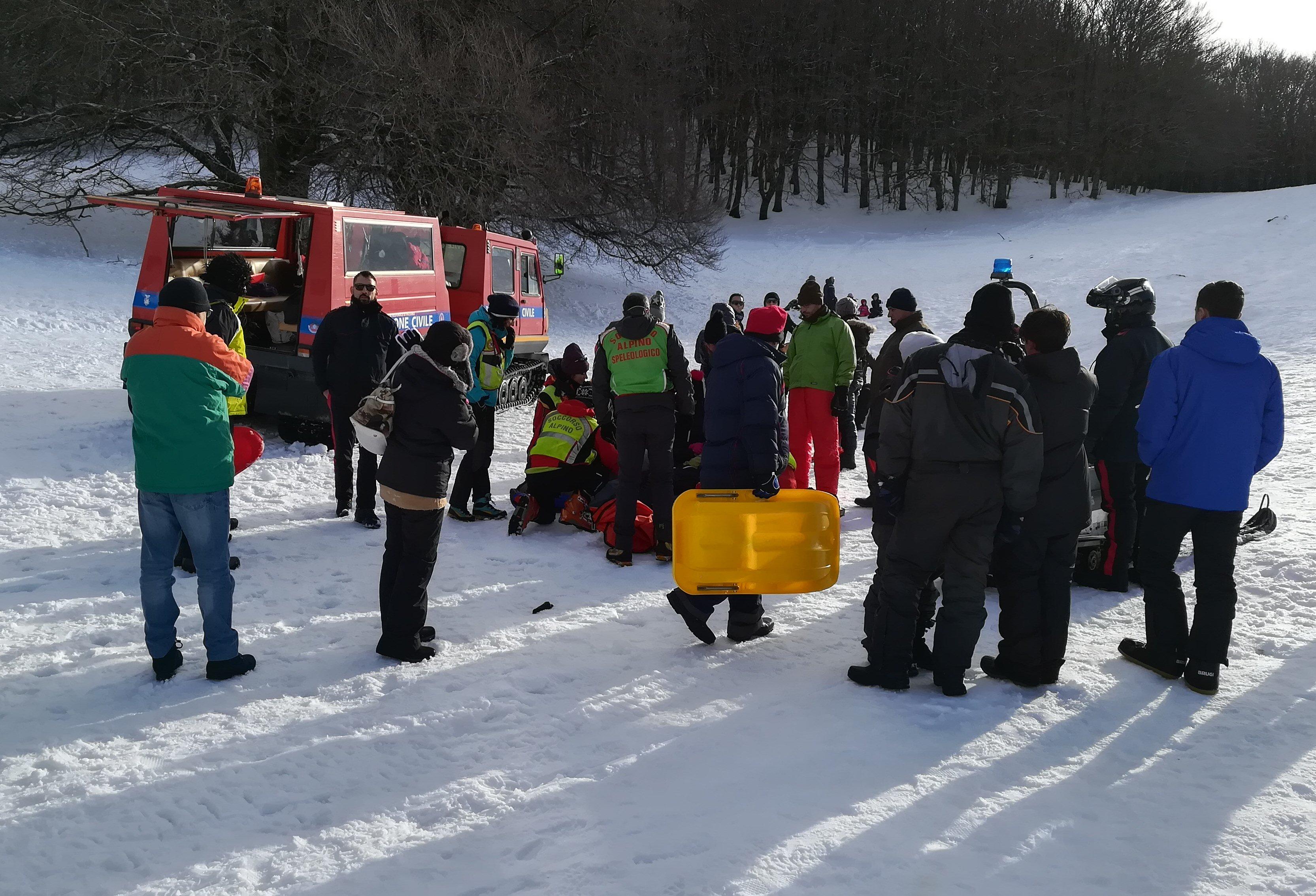 Piano Battaglia sommersa dalla neve: 6 persone soccorse nel week end