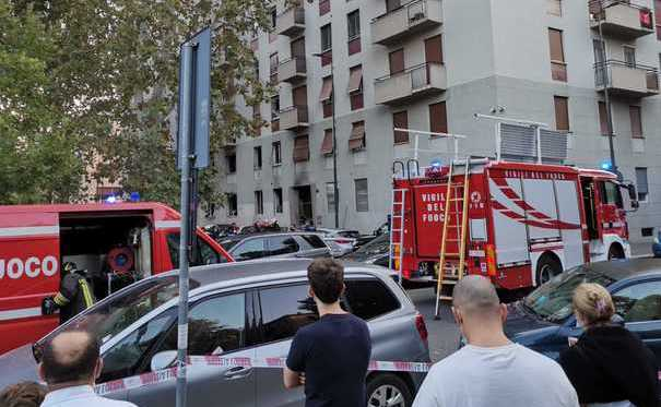 Esplosione in un appartamento in piazzale Libia a Milano: 6 feriti