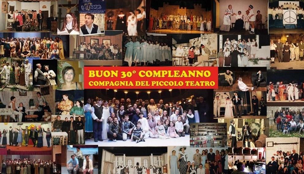 Modica, la Compagnia del Piccolo Teatro ha festeggiato 30 anni di attività