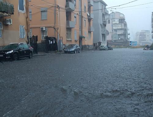 "Maltempo a Catania, Parisi: ""Caditoie otturate, urge pulirle"""