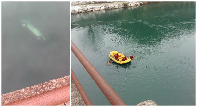 Auto finisce nel fiume in provincia di Pisa, morti tre romeni