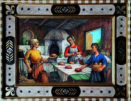 Pittura e arte, Miti e il Territorio a Mazara del Vallo
