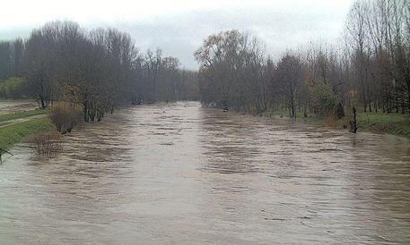 Il livello del fiume Po salito di due metri e mezzo in 24 ore