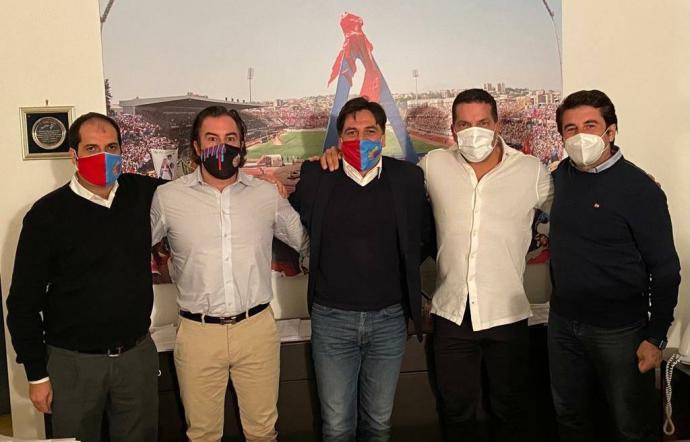 Pogliese incontra l'imprenditore Tacopina: il Catania Calcio a un passo dalla cessione