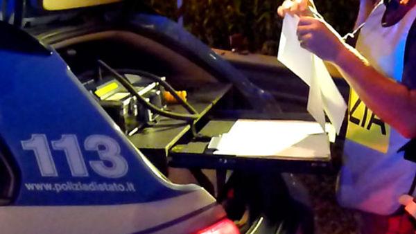 Siracusa, denunciato per guida sotto effetto di stupefacenti