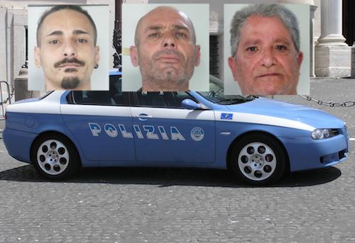 Catania, evadono dai domiciliari: tre persone arrestate