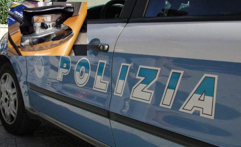 Armato di un ferro da stiro rapina una pizzeria a Bari, arrestato