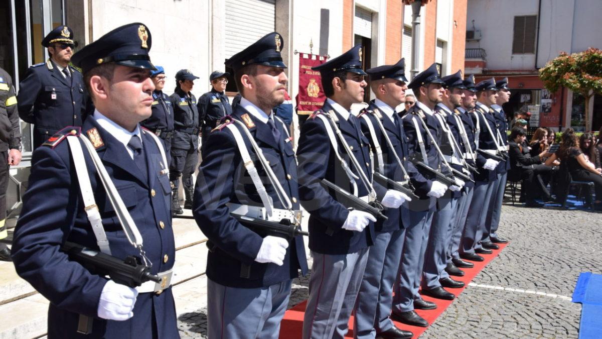 Ragusa, cerimonia con norme anticovid per l'anniversario della Polizia