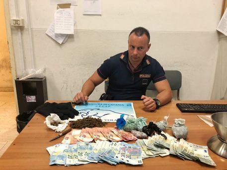 Catania, arrestato con marijuana skunk nel rione di San Berillo