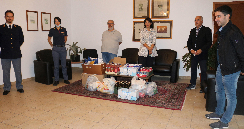 Siracusa, iniziativa di solidarietà della Caritas in collaborazione con la Polizia