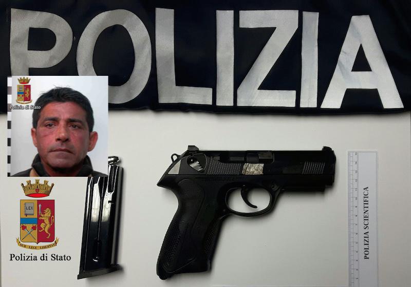 Vittoria, trovato in possesso di un'arma clandestina: arrestato