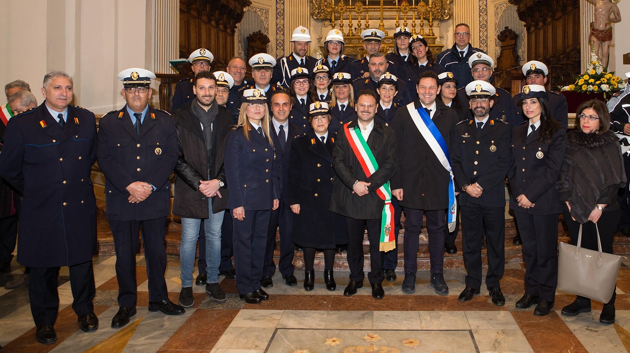 Comiso, celebrata la festa della Polizia locale in onore del patrono