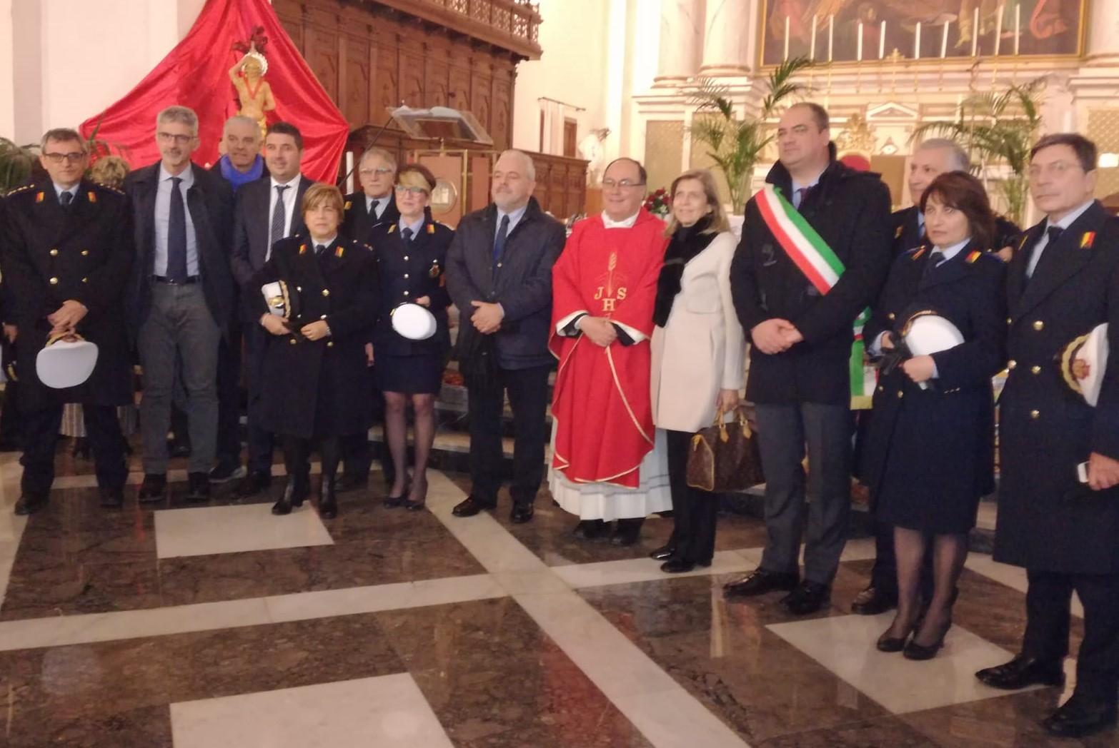 Ispica, celebrata in Chiesa Madre la festa provinciale della Polizia locale
