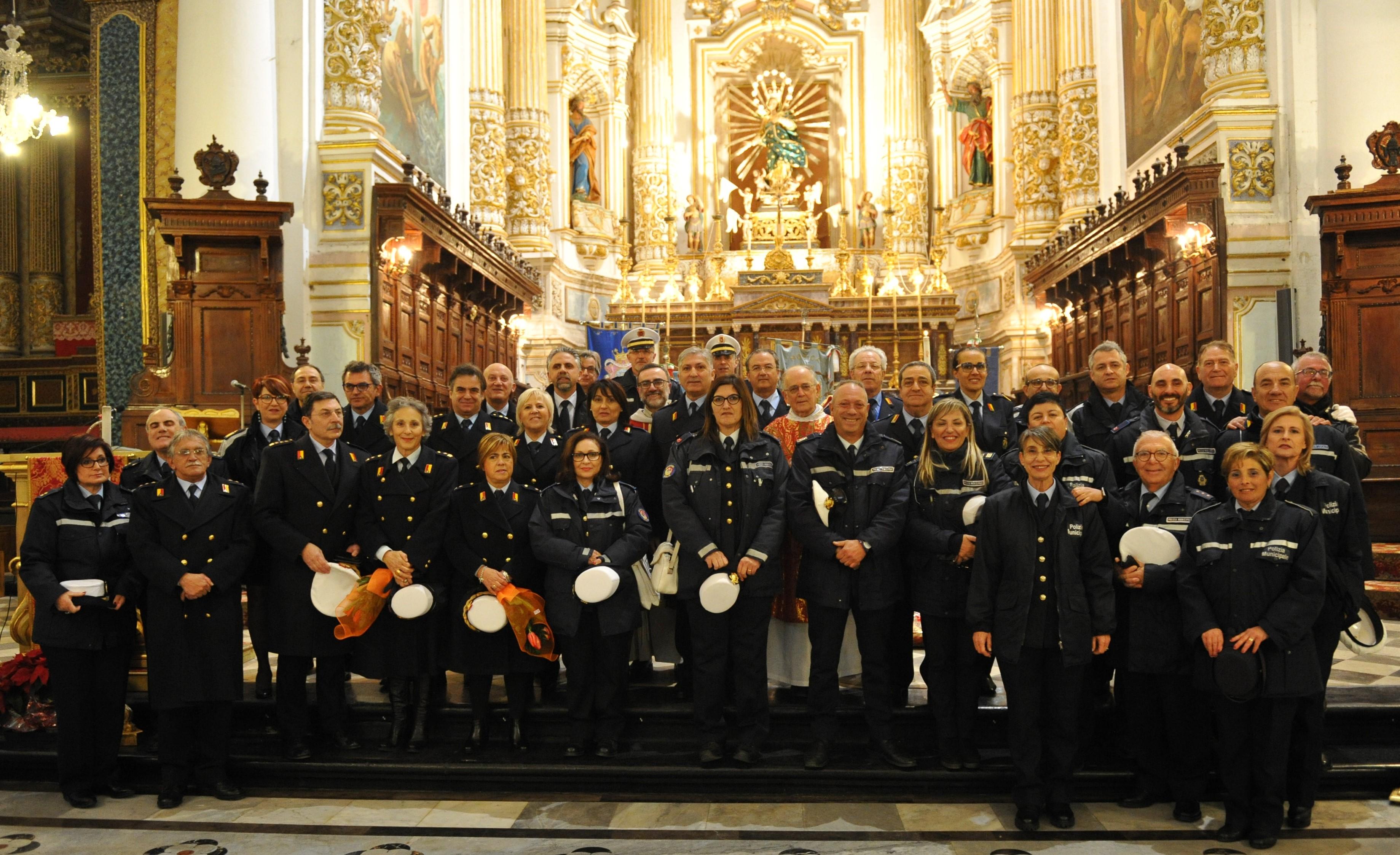 Modica, celebrato nel Duomo di San Pietro il patrono della Polizia Locale