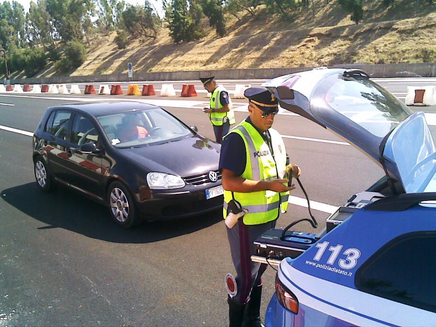 Polstrada, a Messina nel 2018 oltre diciannovemila violazioni