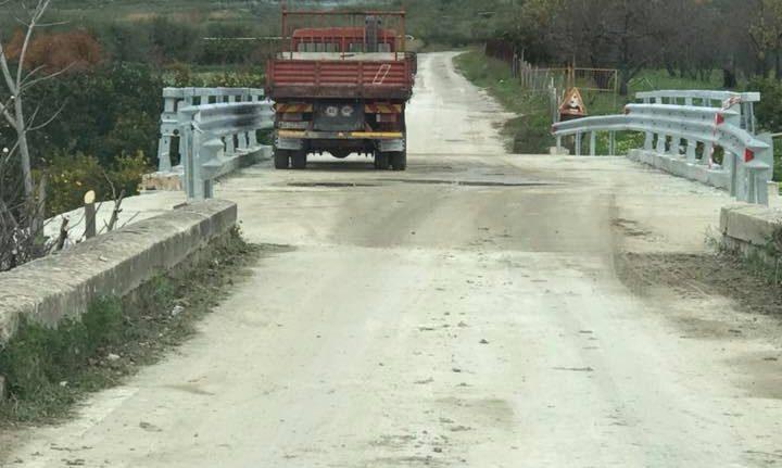 Agrigento, dopo 2 anni riaperta al transito la  strada Provinciale 37