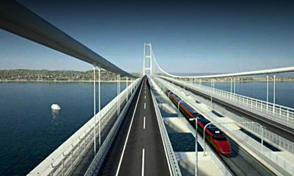 Ponte sullo Stretto di Messina, Salini: è l'unico progetto per il Sud che può partire